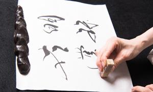 岡西佑奈 書と禅語 「明珠在掌」
